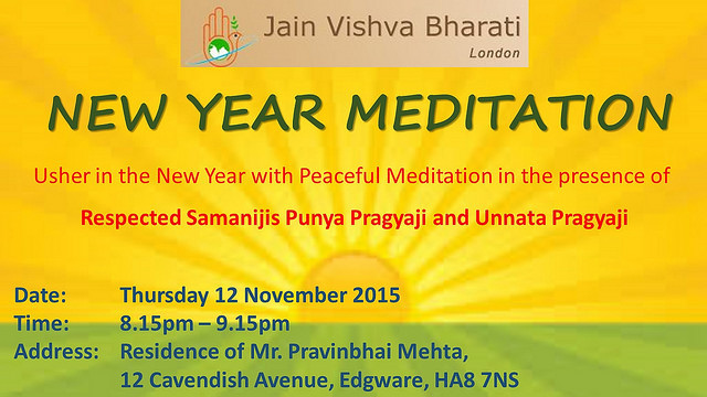 2015.11.12 JVB London New Year Meditation