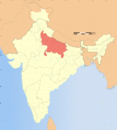 File:India Uttar Pradesh locator map.svg