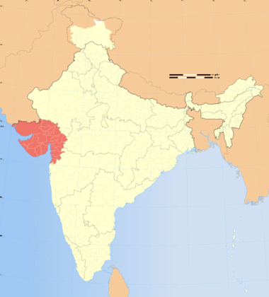 File:India Gujarat locator map.svg