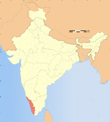 File:India Kerala locator map.svg