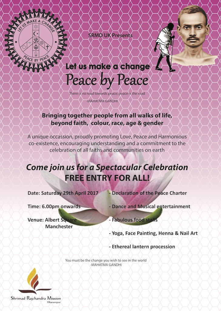 2017.04.29  Manchester  - Let Us Make A Change Peace By Peace