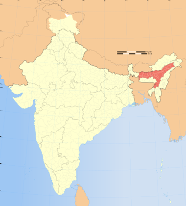 File:India Assam locator map.svg